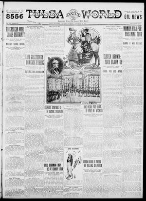 Primary view of object titled 'Tulsa Daily World (Tulsa, Okla.), Vol. 7, No. 10, Ed. 1 Thursday, September 28, 1911'.