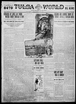 Primary view of object titled 'Tulsa Daily World (Tulsa, Okla.), Vol. 7, No. 13, Ed. 1 Sunday, October 1, 1911'.