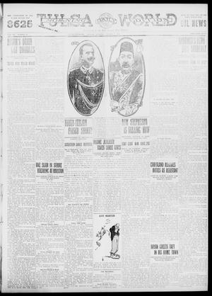 Primary view of object titled 'Tulsa Daily World (Tulsa, Okla.), Vol. 7, No. 14, Ed. 1 Tuesday, October 3, 1911'.