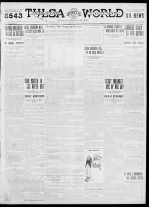 Primary view of object titled 'Tulsa Daily World (Tulsa, Okla.), Vol. 7, No. 16, Ed. 1 Thursday, October 5, 1911'.