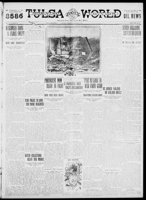 Primary view of object titled 'Tulsa Daily World (Tulsa, Okla.), Vol. 7, No. 18, Ed. 1 Saturday, October 7, 1911'.