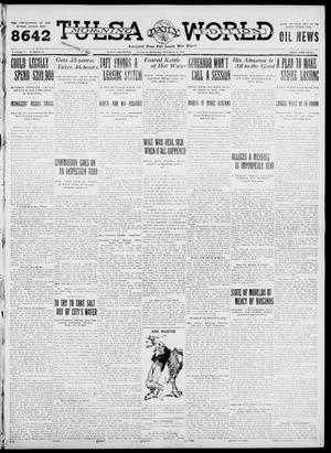 Primary view of object titled 'Tulsa Daily World (Tulsa, Okla.), Vol. 7, No. 20, Ed. 1 Tuesday, October 10, 1911'.