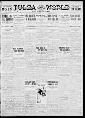 Primary view of object titled 'Tulsa Daily World (Tulsa, Okla.), Vol. 7, No. 20, Ed. 1 Wednesday, October 11, 1911'.