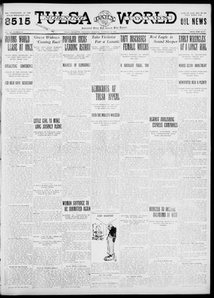Primary view of object titled 'Tulsa Daily World (Tulsa, Okla.), Vol. 7, No. 21, Ed. 1 Thursday, October 12, 1911'.