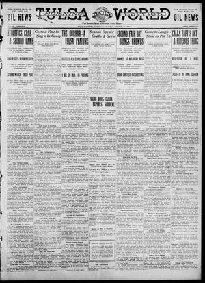 Primary view of object titled 'Tulsa Daily World (Tulsa, Okla.), Vol. 7, No. 26, Ed. 1 Wednesday, October 18, 1911'.