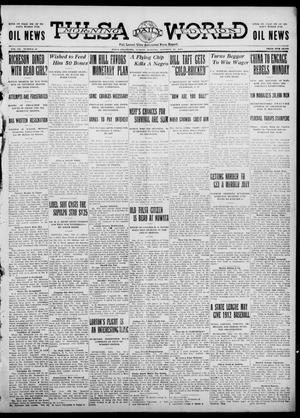 Primary view of object titled 'Tulsa Daily World (Tulsa, Okla.), Vol. 7, No. 30, Ed. 1 Sunday, October 22, 1911'.