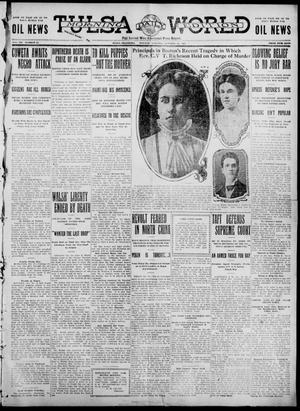 Primary view of object titled 'Tulsa Daily World (Tulsa, Okla.), Vol. 7, No. 31, Ed. 1 Tuesday, October 24, 1911'.