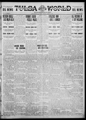 Primary view of object titled 'Tulsa Daily World (Tulsa, Okla.), Vol. 7, No. 32, Ed. 1 Wednesday, October 25, 1911'.