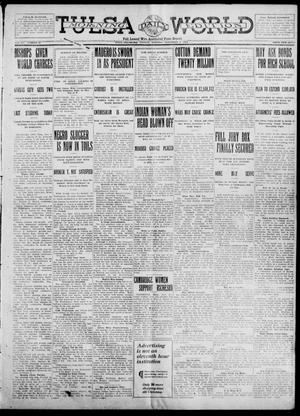 Primary view of object titled 'Tulsa Daily World (Tulsa, Okla.), Vol. 7, No. 43, Ed. 1 Tuesday, November 7, 1911'.