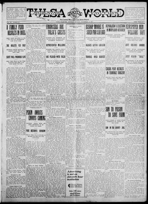 Primary view of object titled 'Tulsa Daily World (Tulsa, Okla.), Vol. 7, No. 45, Ed. 1 Thursday, November 9, 1911'.