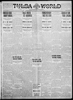 Primary view of object titled 'Tulsa Daily World (Tulsa, Okla.), Vol. 7, No. 47, Ed. 1 Saturday, November 11, 1911'.