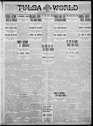 Primary view of object titled 'Tulsa Daily World (Tulsa, Okla.), Vol. 7, No. 50, Ed. 1 Wednesday, November 15, 1911'.
