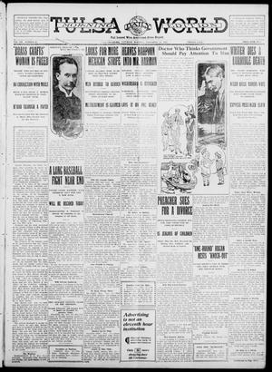 Primary view of object titled 'Tulsa Daily World (Tulsa, Okla.), Vol. 7, No. 53, Ed. 1 Saturday, November 18, 1911'.