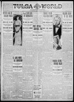 Primary view of object titled 'Tulsa Daily World (Tulsa, Okla.), Vol. 7, No. 56, Ed. 1 Wednesday, November 22, 1911'.