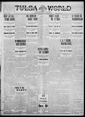 Primary view of object titled 'Tulsa Daily World (Tulsa, Okla.), Vol. 7, No. 72, Ed. 1 Sunday, December 10, 1911'.