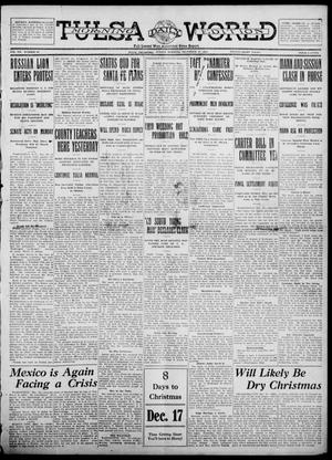 Primary view of object titled 'Tulsa Daily World (Tulsa, Okla.), Vol. 7, No. 79, Ed. 1 Sunday, December 17, 1911'.