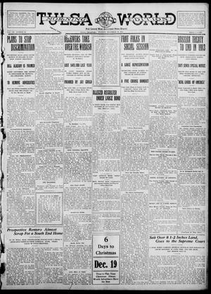 Primary view of object titled 'Tulsa Daily World (Tulsa, Okla.), Vol. 7, No. 79, Ed. 1 Tuesday, December 19, 1911'.