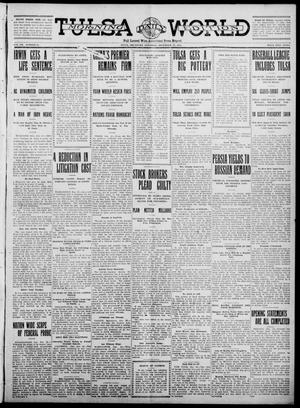 Primary view of object titled 'Tulsa Daily World (Tulsa, Okla.), Vol. 7, No. 83, Ed. 1 Saturday, December 23, 1911'.
