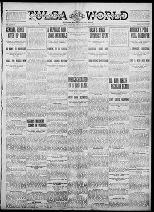 Primary view of object titled 'Tulsa Daily World (Tulsa, Okla.), Vol. 7, No. 85, Ed. 1 Tuesday, December 26, 1911'.