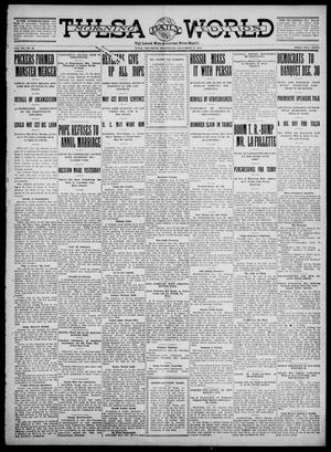 Primary view of object titled 'Tulsa Daily World (Tulsa, Okla.), Vol. 7, No. 86, Ed. 1 Wednesday, December 27, 1911'.