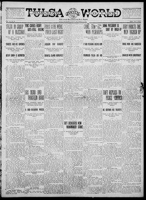 Primary view of object titled 'Tulsa Daily World (Tulsa, Okla.), Vol. 7, No. 90, Ed. 1 Sunday, December 31, 1911'.