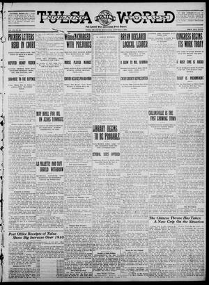 Primary view of object titled 'Tulsa Daily World (Tulsa, Okla.), Vol. 7, No. 92, Ed. 1 Wednesday, January 3, 1912'.