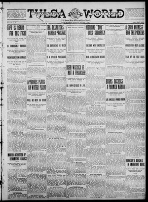 Primary view of object titled 'Tulsa Daily World (Tulsa, Okla.), Vol. 7, No. 93, Ed. 1 Thursday, January 4, 1912'.
