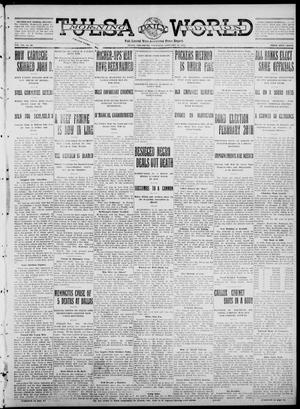 Primary view of object titled 'Tulsa Daily World (Tulsa, Okla.), Vol. 7, No. 99, Ed. 1 Thursday, January 11, 1912'.