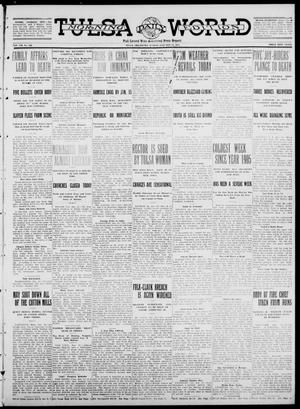 Primary view of object titled 'Tulsa Daily World (Tulsa, Okla.), Vol. 7, No. 102, Ed. 1 Sunday, January 14, 1912'.