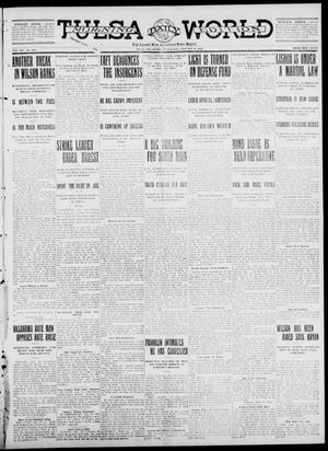 Primary view of object titled 'Tulsa Daily World (Tulsa, Okla.), Vol. 7, No. 116, Ed. 1 Wednesday, January 31, 1912'.