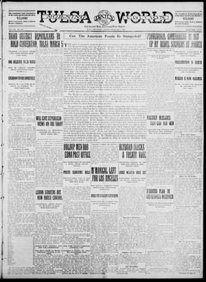 Primary view of object titled 'Tulsa Daily World (Tulsa, Okla.), Vol. 7, No. 118, Ed. 1 Friday, February 2, 1912'.