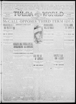 Primary view of object titled 'Tulsa Daily World (Tulsa, Okla.), Vol. 7, No. 122, Ed. 1 Wednesday, February 7, 1912'.