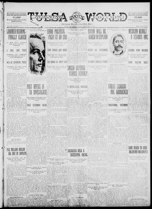 Primary view of object titled 'Tulsa Daily World (Tulsa, Okla.), Vol. 7, No. 125, Ed. 1 Saturday, February 10, 1912'.