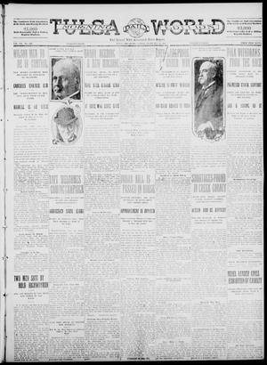Primary view of object titled 'Tulsa Daily World (Tulsa, Okla.), Vol. 7, No. 126, Ed. 1 Sunday, February 11, 1912'.