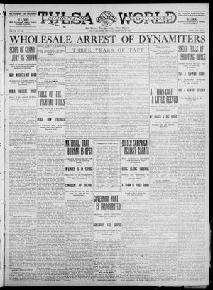 Primary view of object titled 'Tulsa Daily World (Tulsa, Okla.), Vol. 7, No. 129, Ed. 1 Thursday, February 15, 1912'.