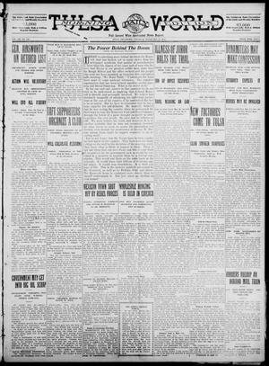 Primary view of object titled 'Tulsa Daily World (Tulsa, Okla.), Vol. 7, No. 131, Ed. 1 Saturday, February 17, 1912'.