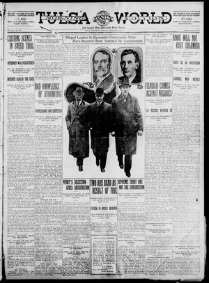 Primary view of object titled 'Tulsa Daily World (Tulsa, Okla.), Vol. 7, No. 133, Ed. 1 Tuesday, February 20, 1912'.