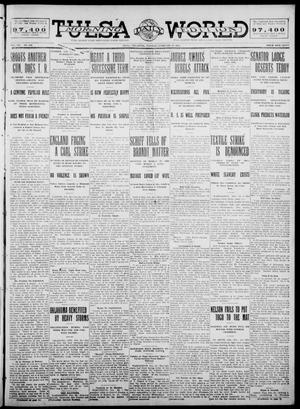 Primary view of object titled 'Tulsa Daily World (Tulsa, Okla.), Vol. 7, No. 139, Ed. 1 Tuesday, February 27, 1912'.