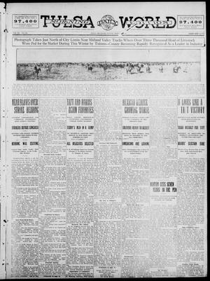 Primary view of object titled 'Tulsa Daily World (Tulsa, Okla.), Vol. 7, No. 144, Ed. 1 Sunday, March 3, 1912'.