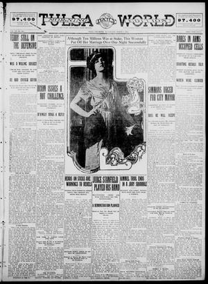 Primary view of object titled 'Tulsa Daily World (Tulsa, Okla.), Vol. 7, No. 146, Ed. 1 Wednesday, March 6, 1912'.