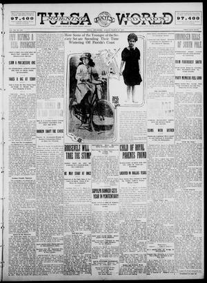 Primary view of object titled 'Tulsa Daily World (Tulsa, Okla.), Vol. 7, No. 150, Ed. 1 Sunday, March 10, 1912'.
