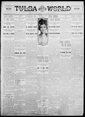 Primary view of object titled 'Tulsa Daily World (Tulsa, Okla.), Vol. 7, No. 155, Ed. 1 Saturday, March 16, 1912'.