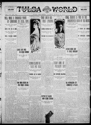 Primary view of object titled 'Tulsa Daily World (Tulsa, Okla.), Vol. 7, No. 162, Ed. 1 Sunday, March 24, 1912'.
