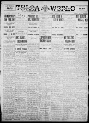 Primary view of object titled 'Tulsa Daily World (Tulsa, Okla.), Vol. 7, No. 164, Ed. 1 Wednesday, March 27, 1912'.