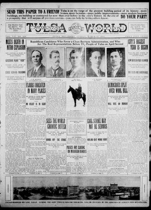 Primary view of object titled 'Tulsa Daily World (Tulsa, Okla.), Vol. 7, No. 168, Ed. 1 Sunday, March 31, 1912'.