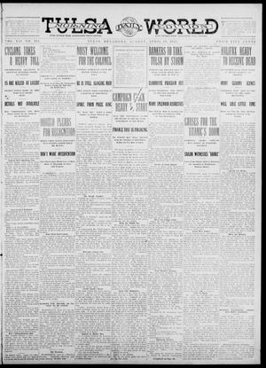 Primary view of object titled 'Tulsa Daily World (Tulsa, Okla.), Vol. 7, No. 192, Ed. 1 Sunday, April 28, 1912'.
