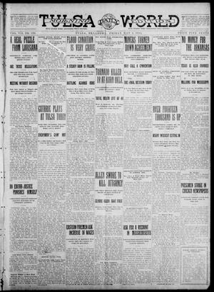 Primary view of object titled 'Tulsa Daily World (Tulsa, Okla.), Vol. 7, No. 196, Ed. 1 Friday, May 3, 1912'.