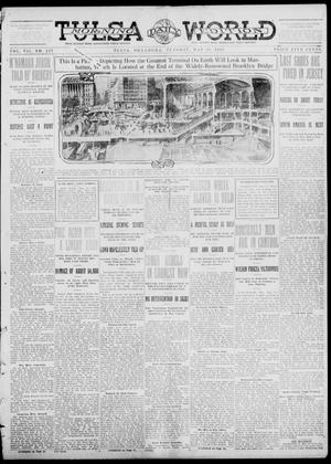 Primary view of object titled 'Tulsa Daily World (Tulsa, Okla.), Vol. 7, No. 217, Ed. 1 Tuesday, May 28, 1912'.