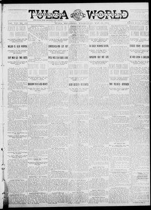 Primary view of object titled 'Tulsa Daily World (Tulsa, Okla.), Vol. 7, No. 218, Ed. 1 Wednesday, May 29, 1912'.