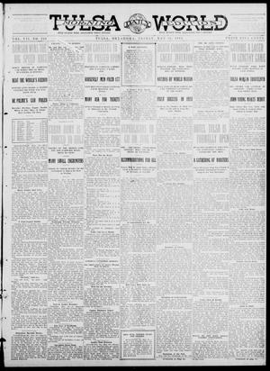 Primary view of object titled 'Tulsa Daily World (Tulsa, Okla.), Vol. 7, No. 220, Ed. 1 Friday, May 31, 1912'.